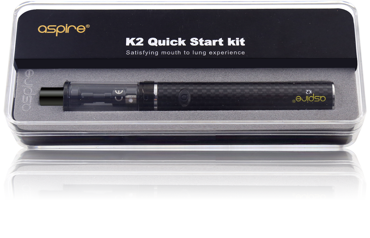 Aspire K2 quick start kit ideal for first time vapers