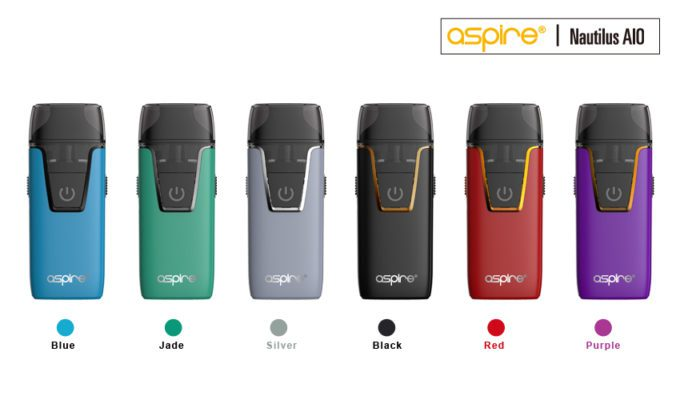 Aspire Nautilus AIO starter Kit perfect for beginners